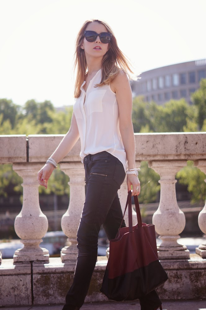 superfine jeans, equipment, céline, proenza schouler, paris, parisienne, outfit, look of the day, blogger, streetstyle, fashionblog, paris style