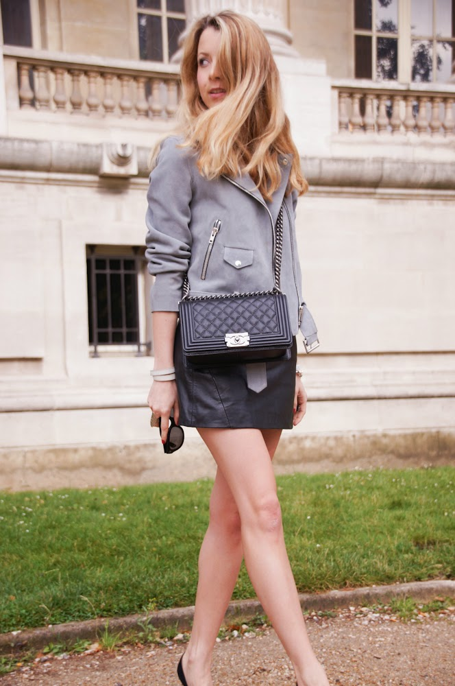 Chanel, sandro, grand palais, couture, isabel marant, fashion blogger, chic, paris, streetstyle