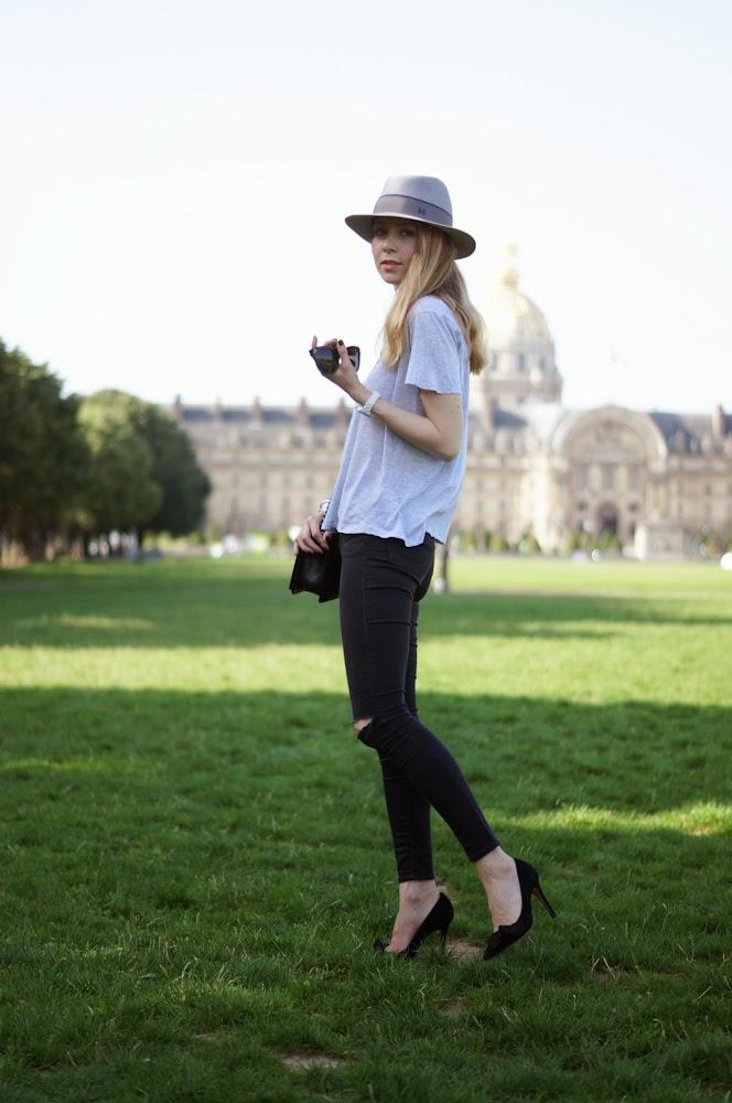 maison michel, chanel, boy bag, topshop, isabel marant, céline, invalides, paris, streetstyle, fashion blogger, chic