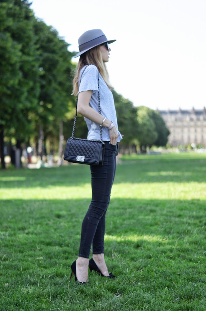maison michel, chanel, boy bag, topshop, isabel marant, céline, invalides, paris, streetstyle, fashion blogger, chic