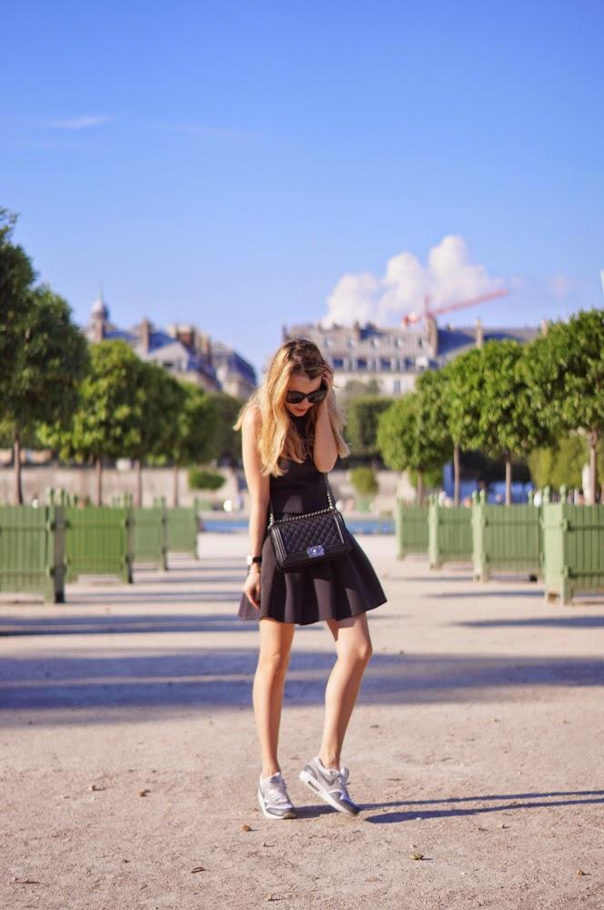 the kooples, chanel, nike, fred, daniel wellington, parisienne, chic, sporty, tuileries, blonde
