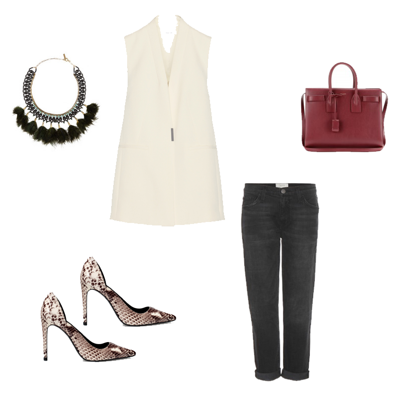 Zara, Helmut Lang, Current Elliott, Saint Laurent, Isabel Marant, outfit, wishlist, fashion blogger, fashion collage