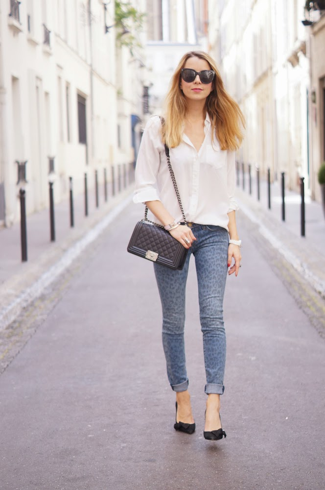 current elliott, equipment, chanel, isabel marant, streetstyle, outfit, look du jour, fashion blogger, chic, parisienne