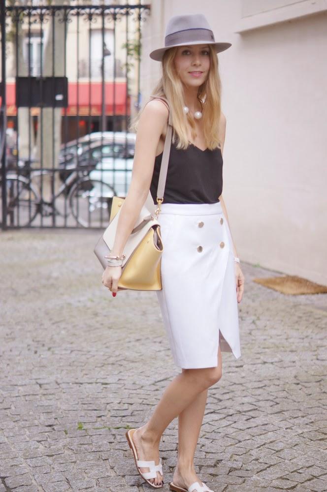 zara, céline, hermès, maison michel, fashion blogger, streetstyle, outfit, look du jour, parisienne, chic