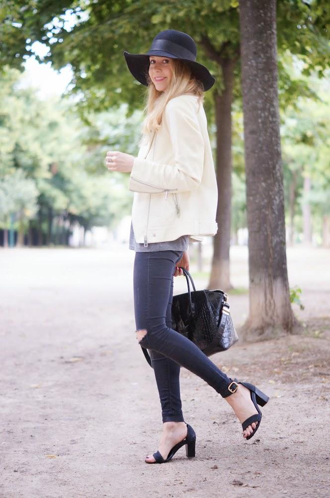 zara, topshop, chloé, givenchy, look du jour, outfit, streetstyle, parisienne