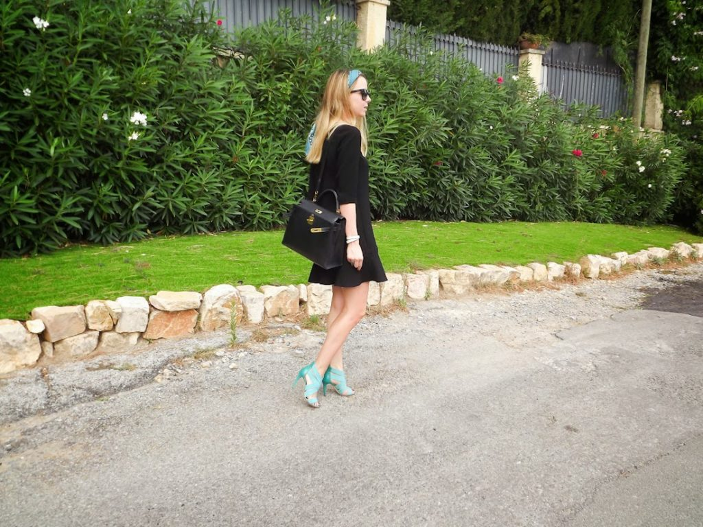 cannes, bash, sergio rossi, hermès, kelly bag, streetstyle, outfit, look du jour, fashion blogger