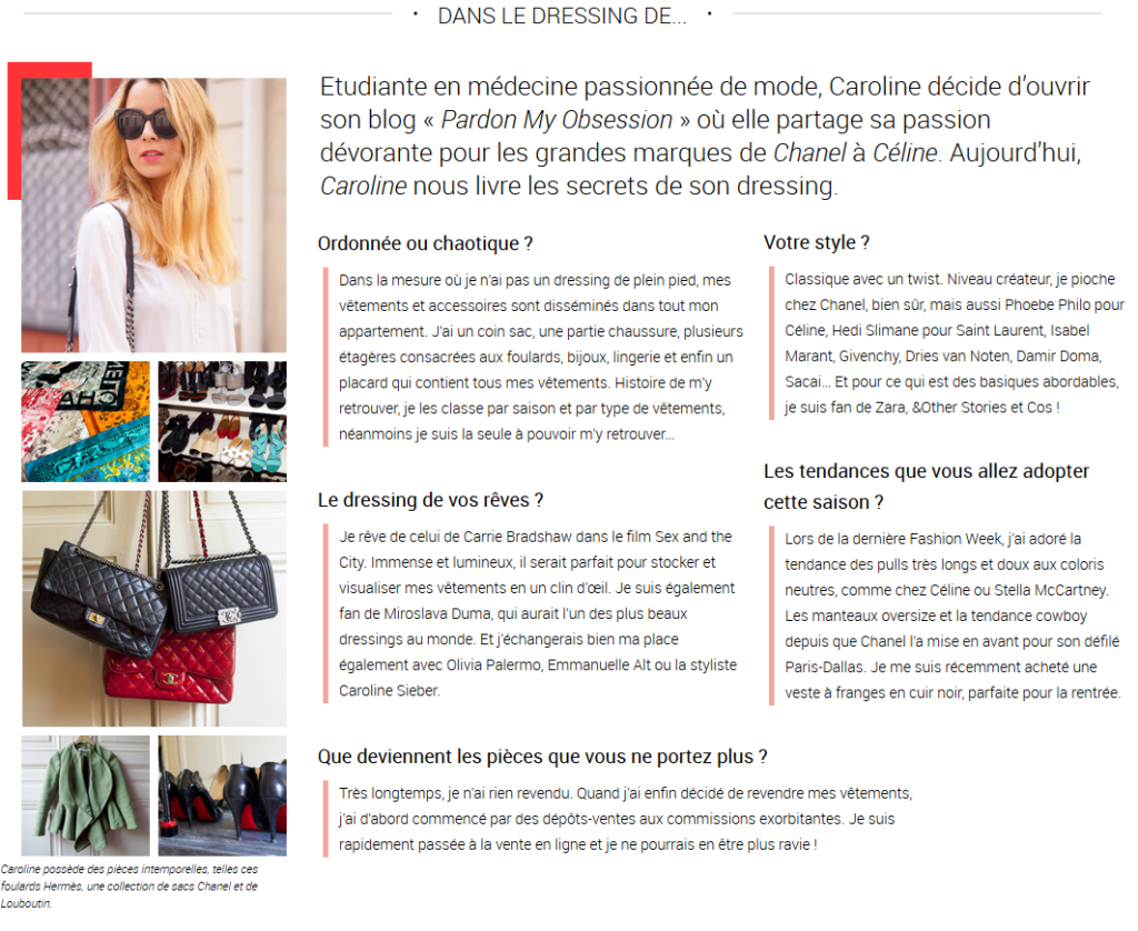 Vide Dressing La Revue Pardon My Obsession