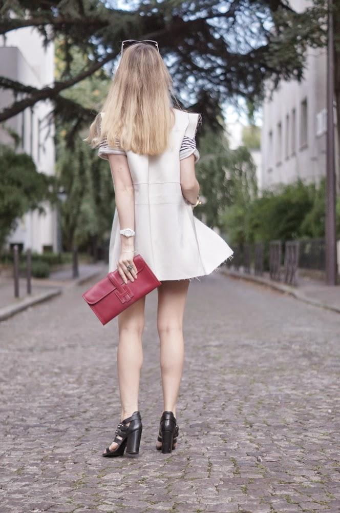 hôtel particulier, givenchy, topshop, hermès, cos, fashion blogger, streetstyle, outfit, look du jour