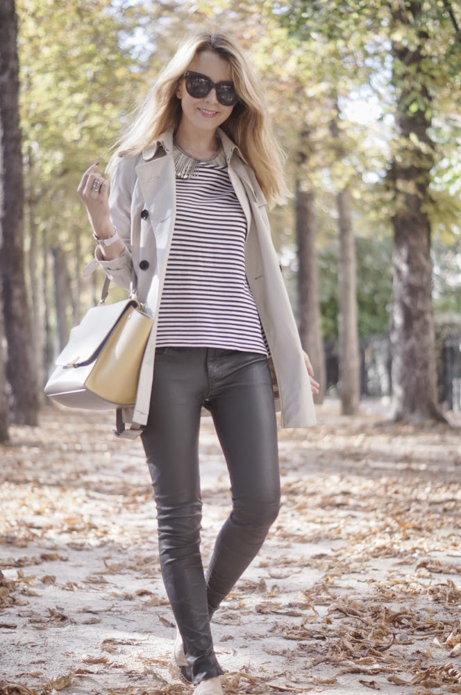 french dressing, burberry, blk dnm, céline, chanel, cos, streetstyle, fashion blogger, look du jour, outfit