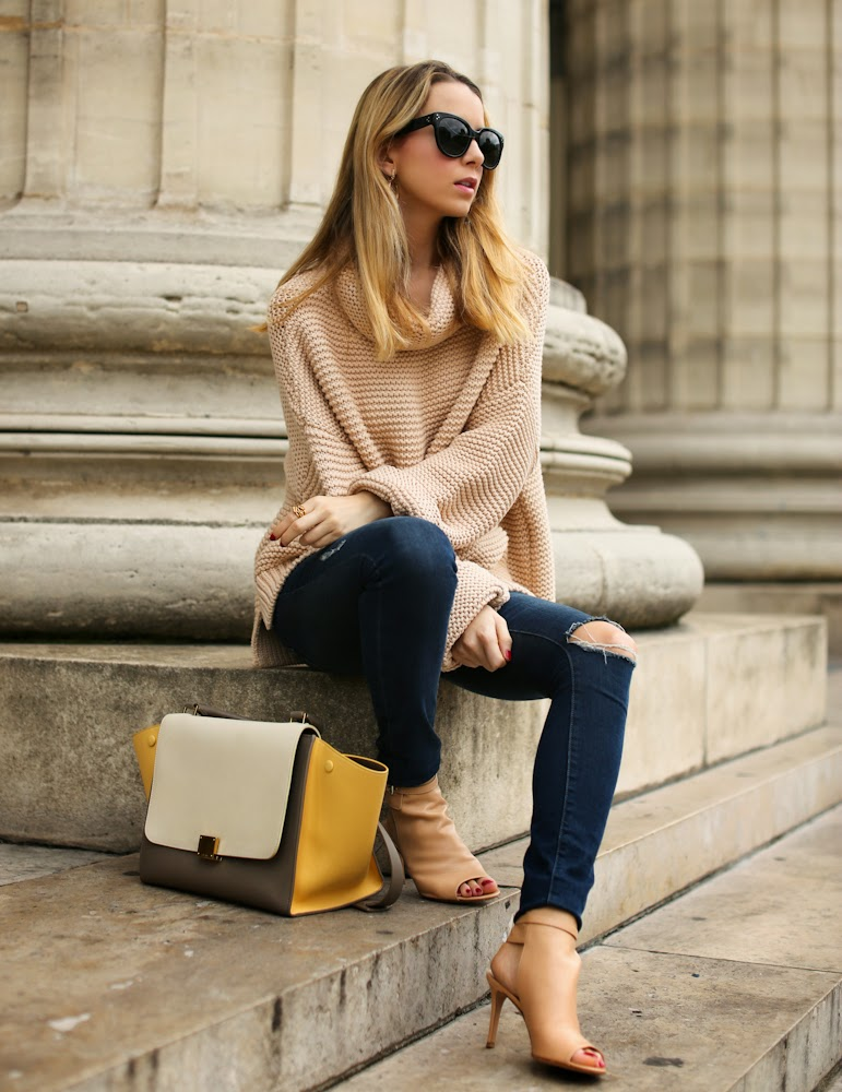 zara, frame denim, gianvito rossi, céline, fashion blogger, paris, streetstyle, utfit