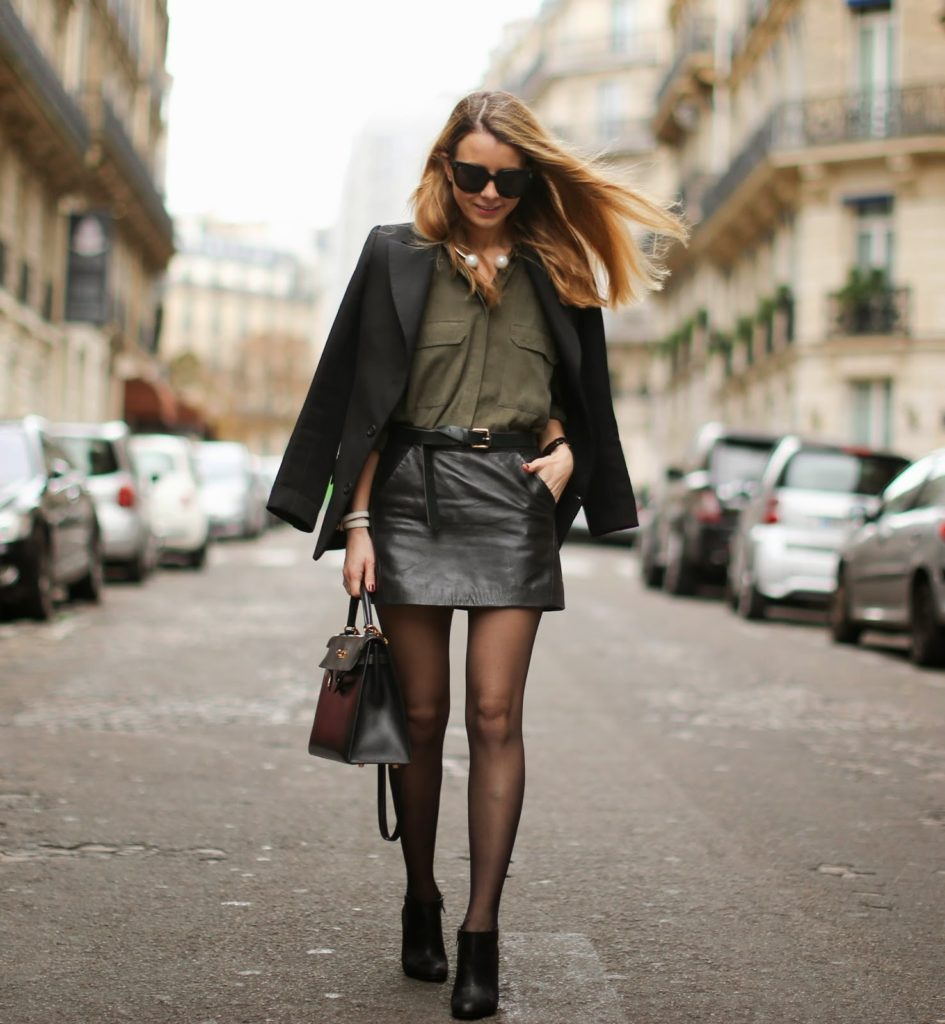 topshop, vanessa bruno, zara, louboutin hermès, hermès kelly, fashion blogger, streetstyle, leather,