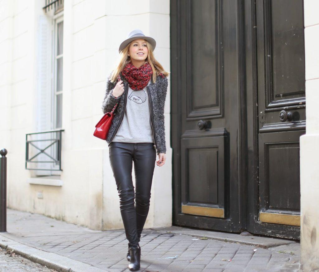 chanel, louboutin, maison michel,iro, blk dnm, streetstyle, fashion blogger, paris, rive gauche