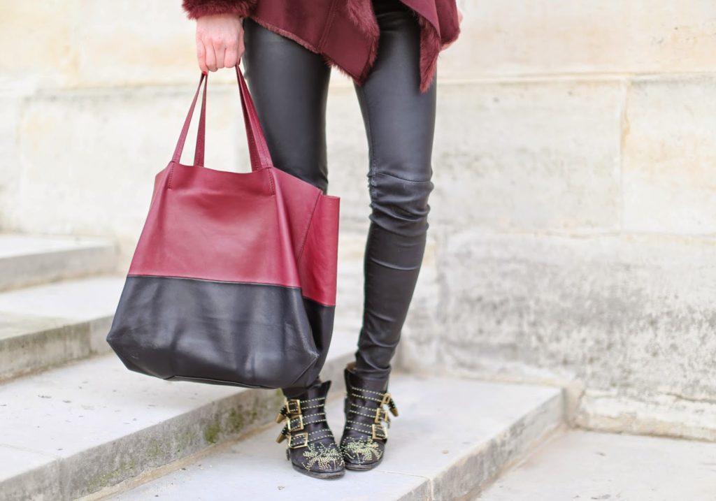 oasis, burgundy, blk dnm, chloé susanna, céline, invalides, paris, streetstyle, fashion blogger