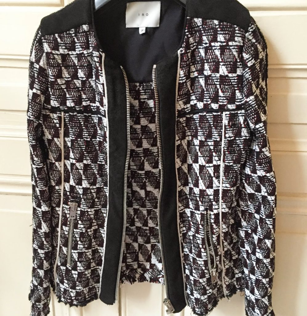 Iro jacket, giveaway, contest, fashion blogger, iro