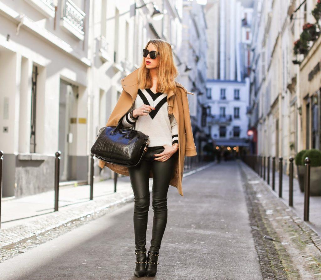 classic, fashion blogger, paris, streetstyle, zara, choies, blk dnm, valentino, givenchy