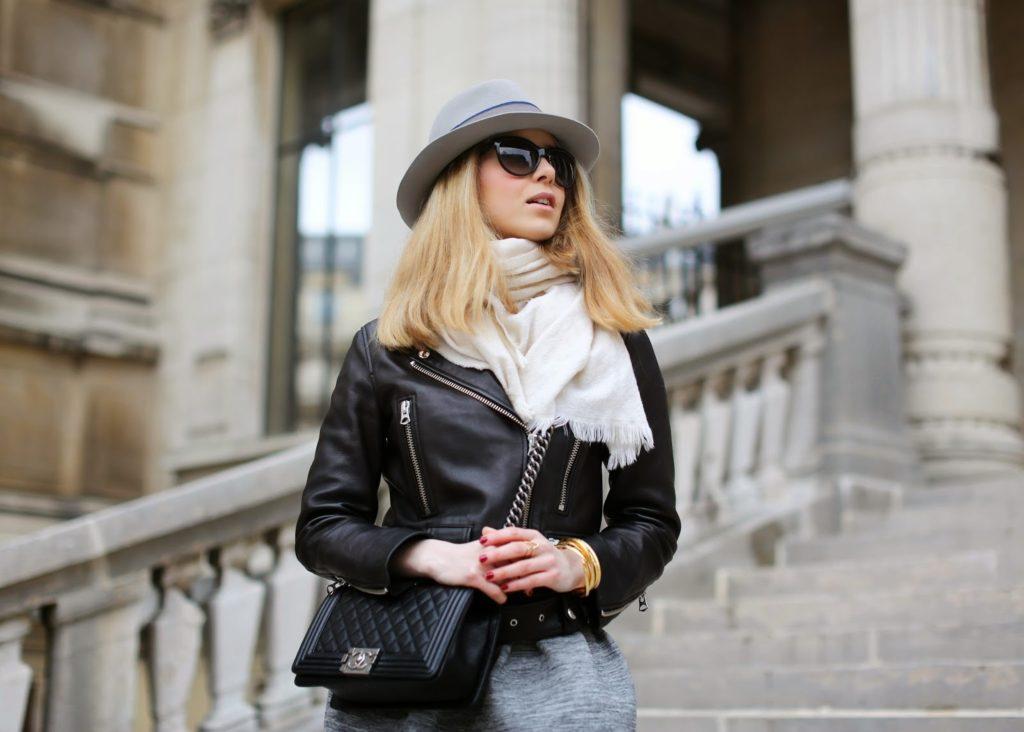 acne, skirt, céline, slipons, maison michel, fendi, streetstyle, fashion blogger