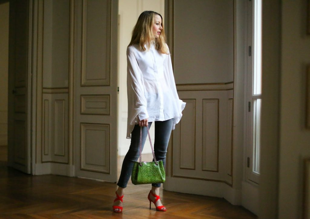 jimmy choo, valentino, paris, fashion blogger, hudson jeans
