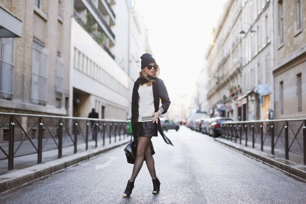 sporty, fashion blogger, the outnet, philip lim, chanel,givenchy, beanie, isabel marant, paris, streetstyle