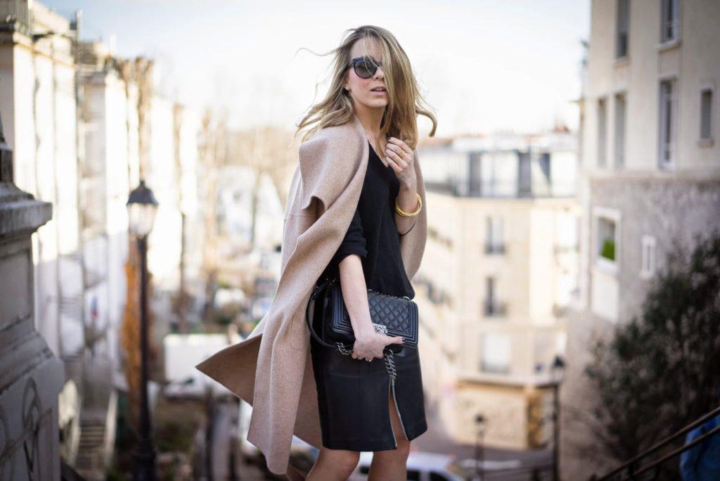 fashion week, paris, streetstyle, webstylestory, zara, leather, chanel