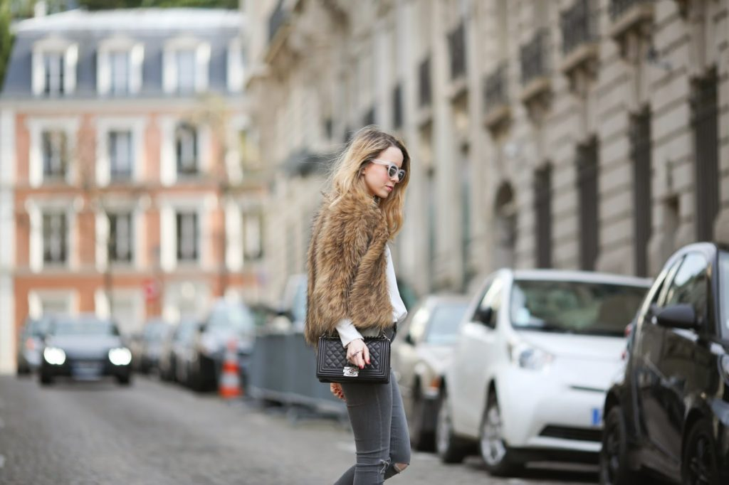 fur, streetstyle, vuitton, leopard, topshop, paris, fashion blogger