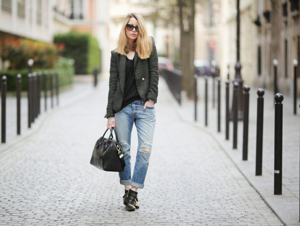 boyfriend jeans, levi's 501, zara, streetstyle, chloé, givenchy, monica vinader, streetstyle