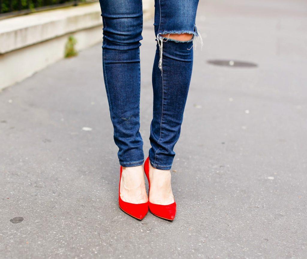kway x maje, heels, gianvito rossi, frame denim, céline, isabel marant, paris, pardonmyobsession