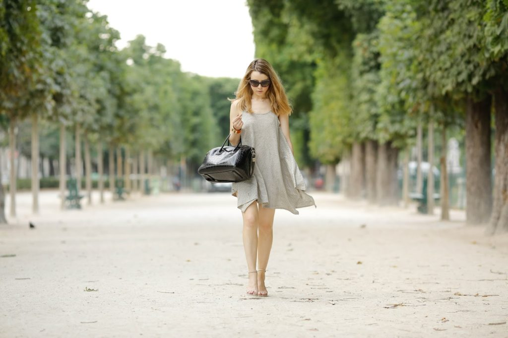 streetstyle, pardon my obsession, givenchy, hermès, collier de chien, paris, summer dresses