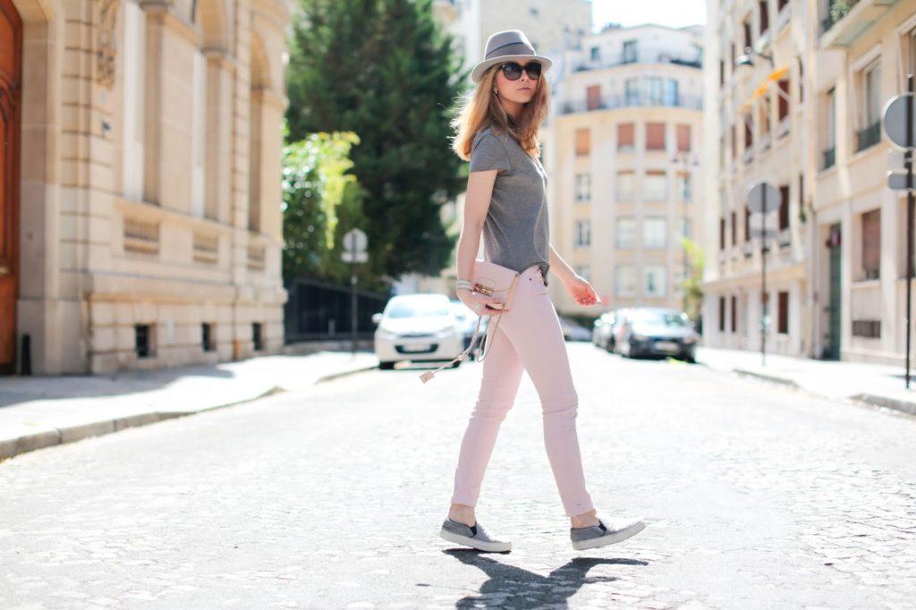 pardonmyobsession, streetstyle, fashion blogger, pink, maison michel, furla, céline