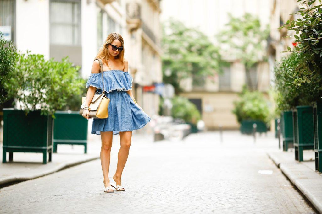summer dress, paris, streetstyle, hermès, céline, pardon my obsession